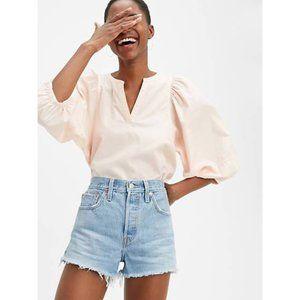 NEW Levi's 501 High Rise Denim Cutoff Shorts
